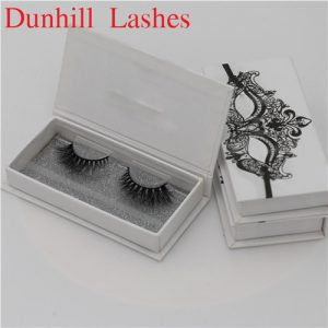 mink eyelashes with private label  package