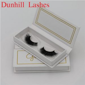 mink eyelashes can with your logo