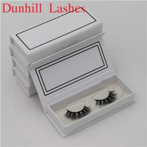 customized with own brand lashes package