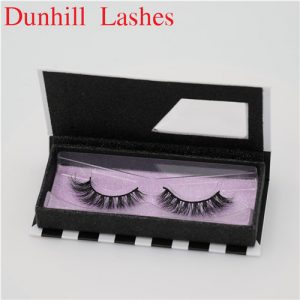 china 3d silk lasheswith private label package