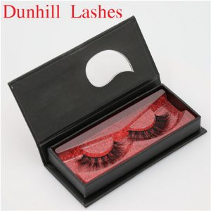 short silk false eyelashes  with private packaging