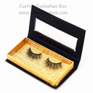 Mink Fur Lashes With Package