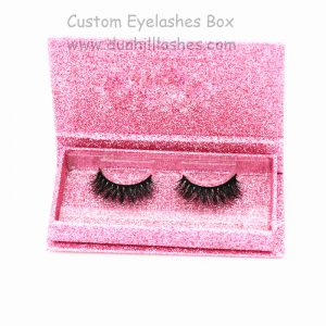 3D Mink Eyelashes With Customized Packaging