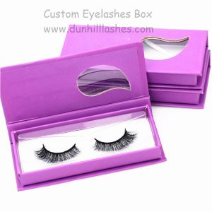 Mink Strip Lashes With Customized Packaging Boxes