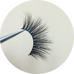 25MM mink strip lashes DH009