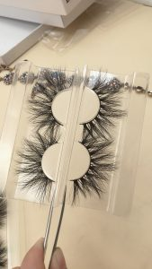 25mm mink strip lashes,DH003 and DH007