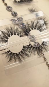 25mm mink strip lashes,DH008 and DH007