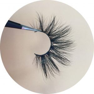 25MM mink strip lashes DH003