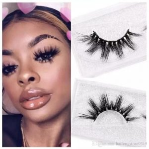 Wholesale 25mm mink strip lashes