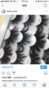 wholesale mink lash strips