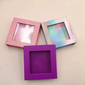 wholesalecustom eyelash packaging box