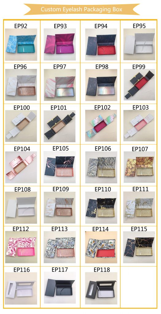 eyelash packaging wholesale