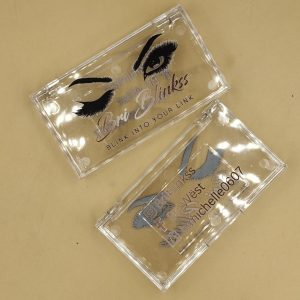 eyelashes packaging box