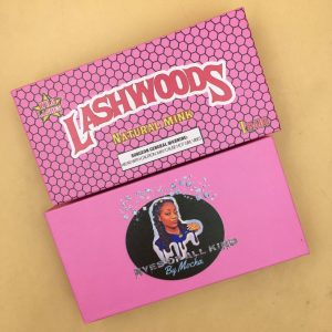 Pink Lash Woods Lash Packaging Boxes