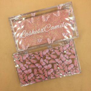 butterfly Candy Eyelash Packaging