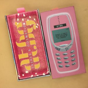 Pink Cell Phone Lash Packaging Boxes