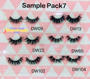 Lash Smple Pack Order