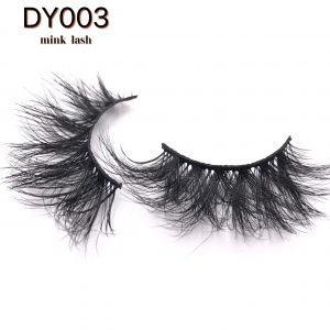 Best selling DY003 handmade mink eyelashes