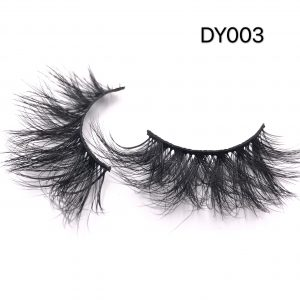The latest 25MM mink eyelashes best-selling style DY003